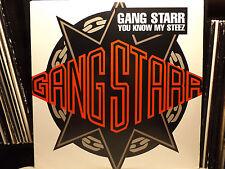 "GANG STARR - YOU KNOW MY STEEZ / SO WASSUP?! (12"")  1997!!  RARE!!  DJ PREMIER!!"