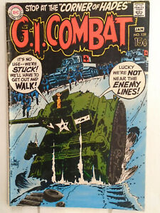 DC Comics G.I. COMBAT #139 (1970) Joe Kubert Cover
