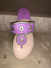 Jack Rogers Girls Miss Hollis Pink Sandal Size 3 New (Left Shoe Only)