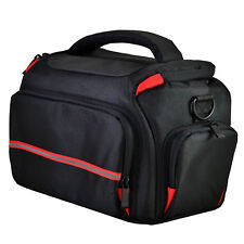Large DSLR Camera Bag Case For Nikon D3400 D3100 D3200 D3300 (Black)