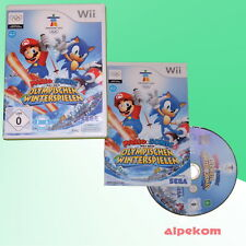 Mario & Sonic at the Olympic Winter Games Nintendo Wii
