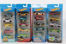 Mattel Hot Wheels 5 er Pack verschiedene Modelle Geschenkset Spielzeug Auto