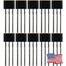 10pcs A3144 A3144E OH3144E A1044 Hall Effect Sensor 3 PIN Transistor  USA