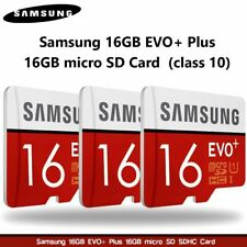SAMSUNG MICRO SD CARD16GB EVO PLUS SDXC ADAPTER 100MBS CLASS 10 UK FAST