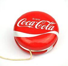 Coca-Cola Coke métal tôle Jojo yoyo Dynamic wave Logo yo-yo yo-yo rouge