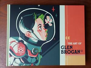 The Art of Glen Brogan Hero Complex Gallery Art Book