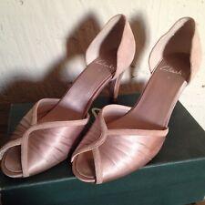 Original Clarks Satin Wedding Heels 6 / 39