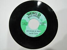 WAYNE CASTLE 45 rpm Just Out Of Reach / I Forgot To Remember To Forget WORLD 202