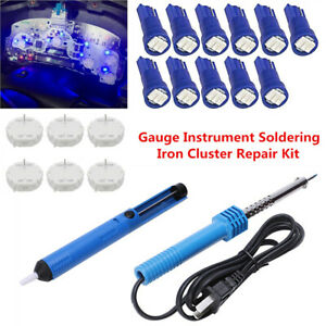 Gauge Instrument Soldering Cluster Repair Kit Stepper Motor X27 168 Tool+Bulbs