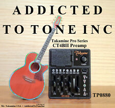 Takamine Ct4bii / Ct4b2 Acoustic Guitar Preamp Pro Series Edition