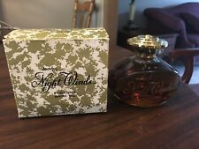 New In Box Amway Night Winds 6 oz Perfumed Bath Oil