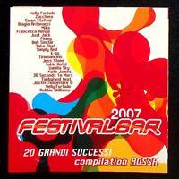 Various - Festivalbar 2007 - Compilation Rossa - Universal Music - CD CD004175