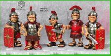 5pz Caricature Centurioni Romani Spiritosi 15cm.souvenir Roma, Mandorle by Paben