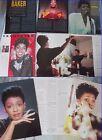 ANITA BAKER_anno 1987 _italian clippings_lotto di articoli & immagini d'epoca