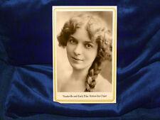 INA CLAIRE Vaudeville & Film Actress Cabinet Card Photograph Beautiful Acting