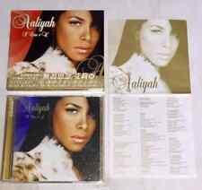 Aaliyah 2003 I Care 4 U Taiwan Box 29 Track Cd+Dvd Album with Promo Insert