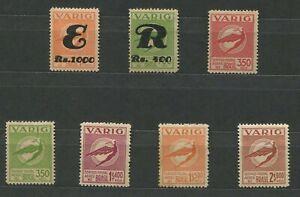 Brazil - Lot #84 (VARIG stamps -MH)
