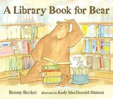 A Library Book for Bear-ExLibrary