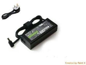 GENUINE NEW 19.5V 3.9A SONY VAIO VGP-AC19V37 VGP-AC19V33 AC Adapter VPCW VPC-W
