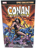 Conan Epic Collection Vol 1 Coming of Conan Marvel Comics TPB NEW Paperback