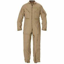 NEW NOMEX® US Military Flight Suit CWU-27/P Flyers Tan Coveralls 40 Short