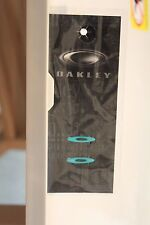 "AUTHENTIC Oakley Racing Jacket LAVA ""O"" Icons Custom Parts TEAL GREEN BLUE 30th"