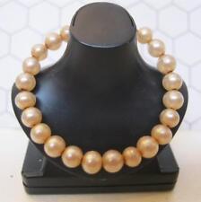 Vintage Jewelry-Beige Senior Prom Golden Girl Evening Splendour? Snake Bracelet