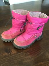 Naturino Rainstep Varna 28 Pink Stiefel Winterstiefel Schnürstiefel Gefüttert *K