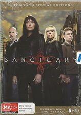 SANCTUARY  -  SEASON 1.   /    SPECIAL  5 DISC EDITION  DVD SET.   NEW & SEALED.