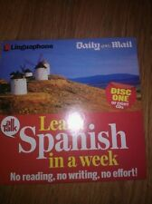 Learn Spanish in a week CD