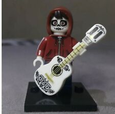 Coco Disney Minifigure MIGUEL + Guitar & FREE Lego Accessory -Birthday Gift