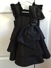 NWT Bye Bye Birdie Nesting Baby 3T Black Toddler Dress 3 Holiday Christmas Party