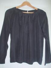 MADAME A PARIS : blouse soie grise L 40
