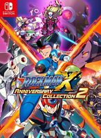 New Nintendo Switch Rockman X Anniversary Collection 2 JAPAN OFFICIAL IMPORT