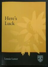 """Here's Luck by Lennie Lower (2004) """"Australia's Funniest Book"""" depression Sydney"""