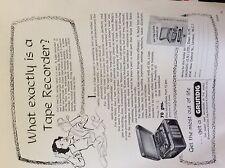 a1g ephemera advert 1956 grundig what is a tape recorder