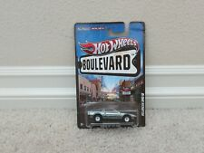 Brand New Hot Wheels Boulevard Delorean Dmc-12 - Bent Card