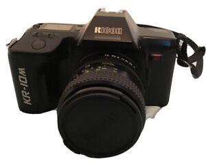 Ricoh KR-10M -35mm film SLR Camera. RIkenon Zoom Lens. Camera Body Not Working