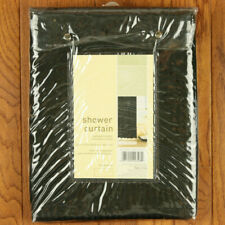 Target Home 72 x 72 Inch Black Stripe Shower Curtain BRAND NEW NO RESERVE