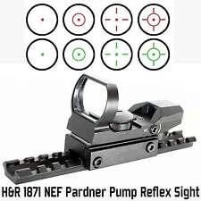 H&R pardner 1871 Shotgun 12ga Reflex sigh with mount, H&R 1871 accessories.
