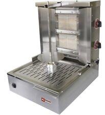 Maqina de kebab gyrosgrill líquido -/gas natural 40cm spiess para 15-20 kg de carne gastlando