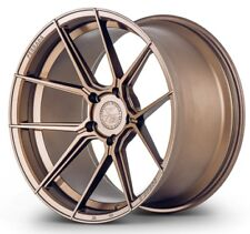 20x9 Ferrada Forge8 FR8 5x112 +27 Matte Bronze Wheels (Set of 4)