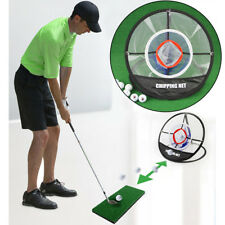 Out/Indoor Golf Training Chipping Net Pop-up Hitting Aid Practice Hitting Tool