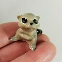 Vintage Hagen Renaker Miniature Baby Raccoon Retired Figurine
