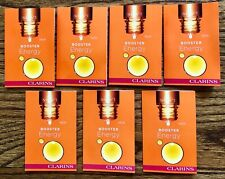 Lot of 7 Clarins Booster Energy 7 mL/.27 fl. oz. ~ Brand New, Fresh, & Sealed!