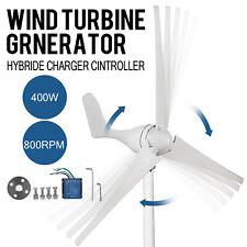 400 W DC 12V Wind Turbine Generator Kit Controller Regulator Home Industry Power