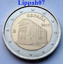 Spanje speciale 2 euro 2017 Oviedo en Asturias Sante Maria del Naranco UNC