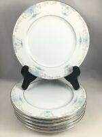 "6 Fashion Royale China Heirloom M-5915 Pattern 6 1/2"" Bread Plates Japan Floral"