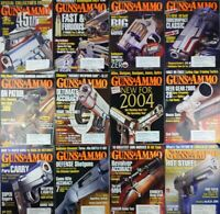 Guns And Ammo Magazine 2000's Assorted Lot Of 12