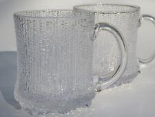 SET: 2 (!) Bierkrüge IITTALA Ultima Thule WIRKKALA Bierkrug Bier Gläser Glas
